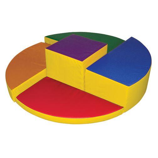 ELR-12615: Softzone® Rainbow Climber