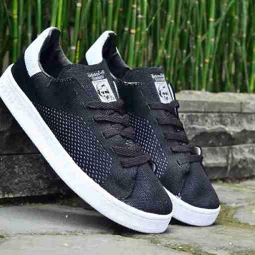 Adidas Stan Smith Flynite Black Premium Size 40 44 Harga 300