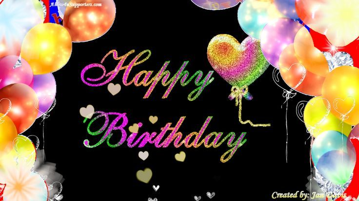 c09bd35cef1847eb86068e506a6ae064.jpg (736×414) | When is ... Animated Happy Birthday Wishes For Men