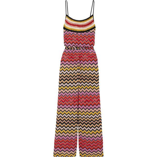 34f668dc6b6 Missoni Metallic crochet-knit jumpsuit ( 1