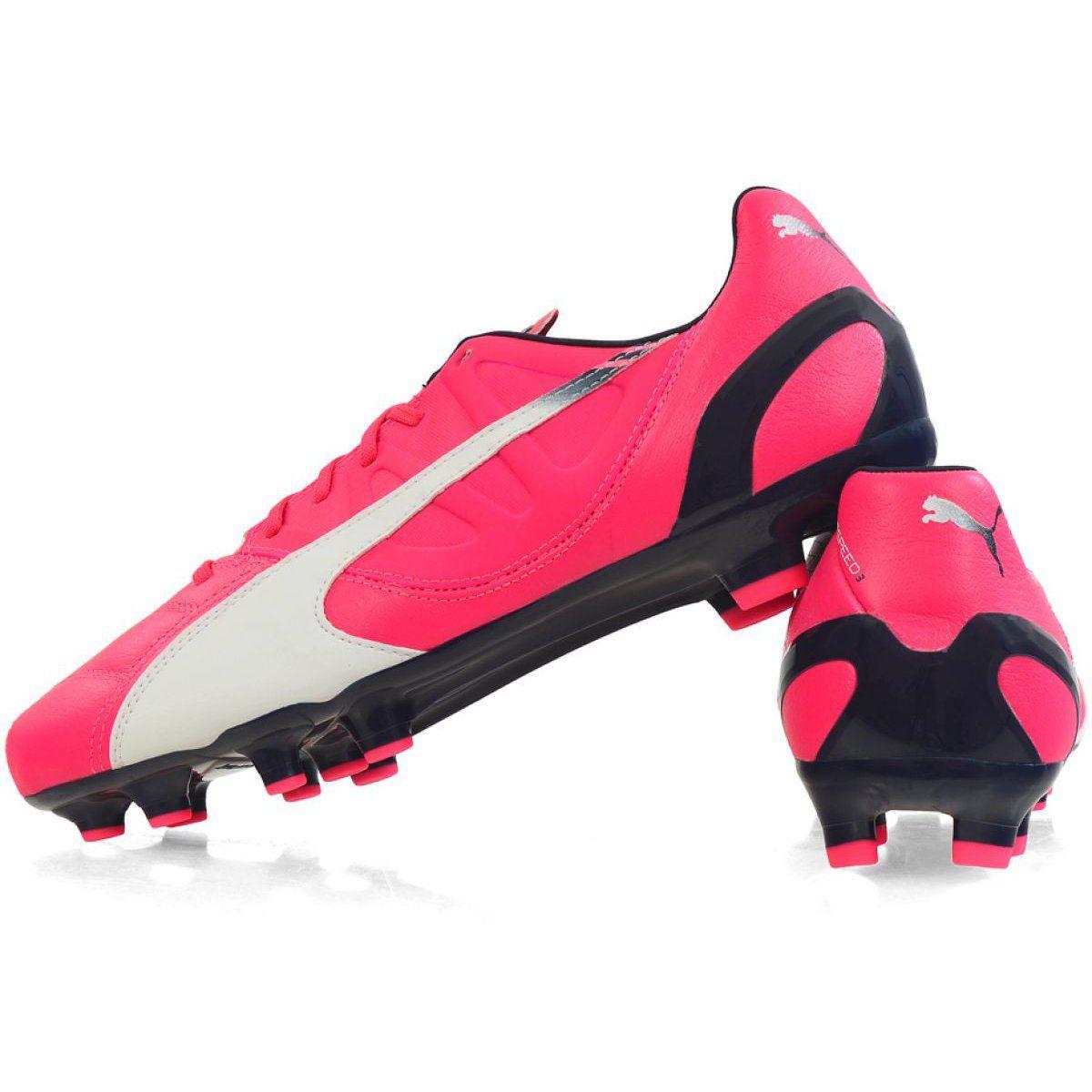 Buty Pilkarskie Puma Evo Speed 3 3 Fg M 103014 03 Rozowe Rozowe Air Max Sneakers Nike Air Max Sneakers Nike