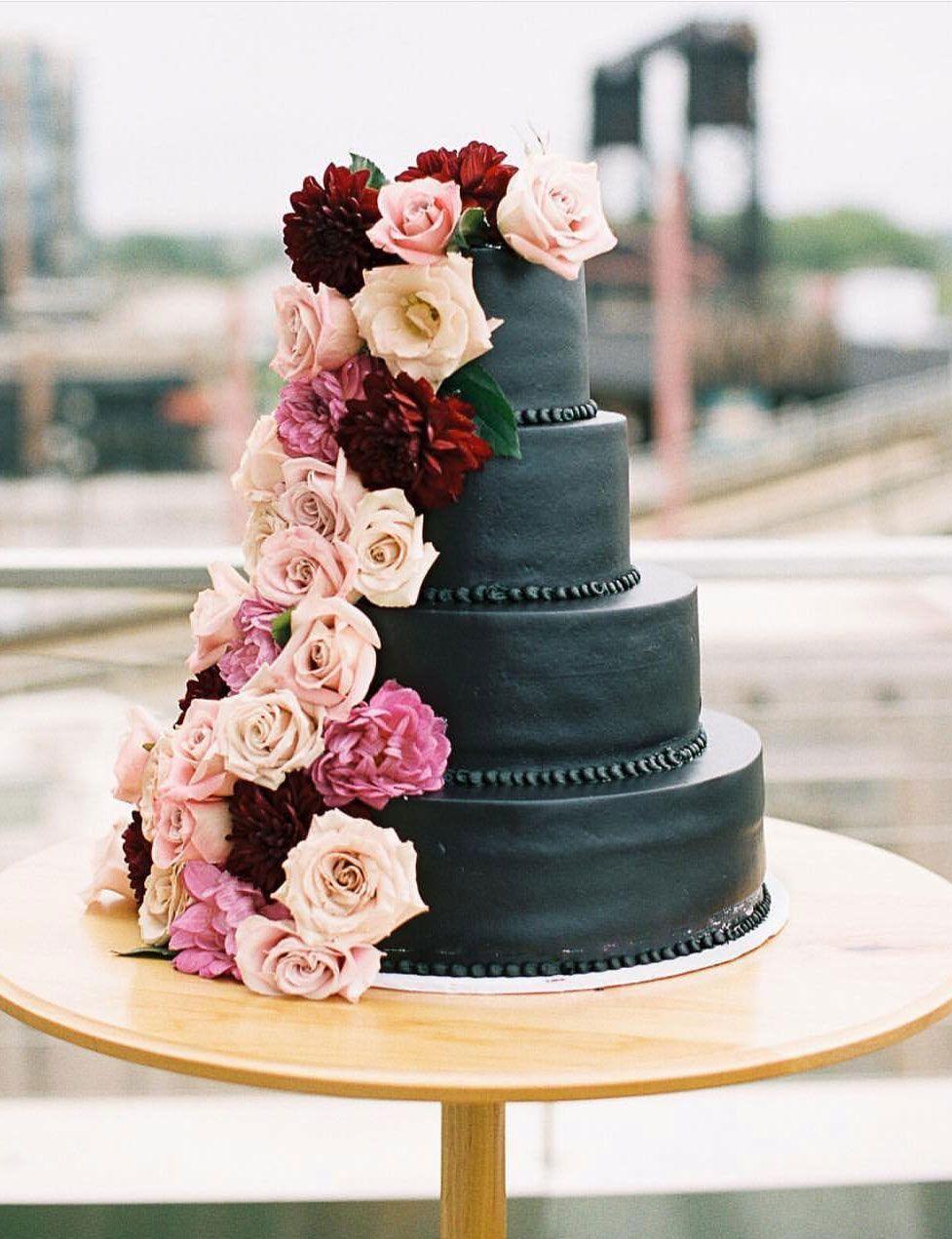100 Pretty Wedding Cakes To Inspire You - rustic wedding cake ideas, moody wedding cake , naked wedding cake #weddingcake #cake #rusticweddingcake #weddingcakes #nakedweddingcake
