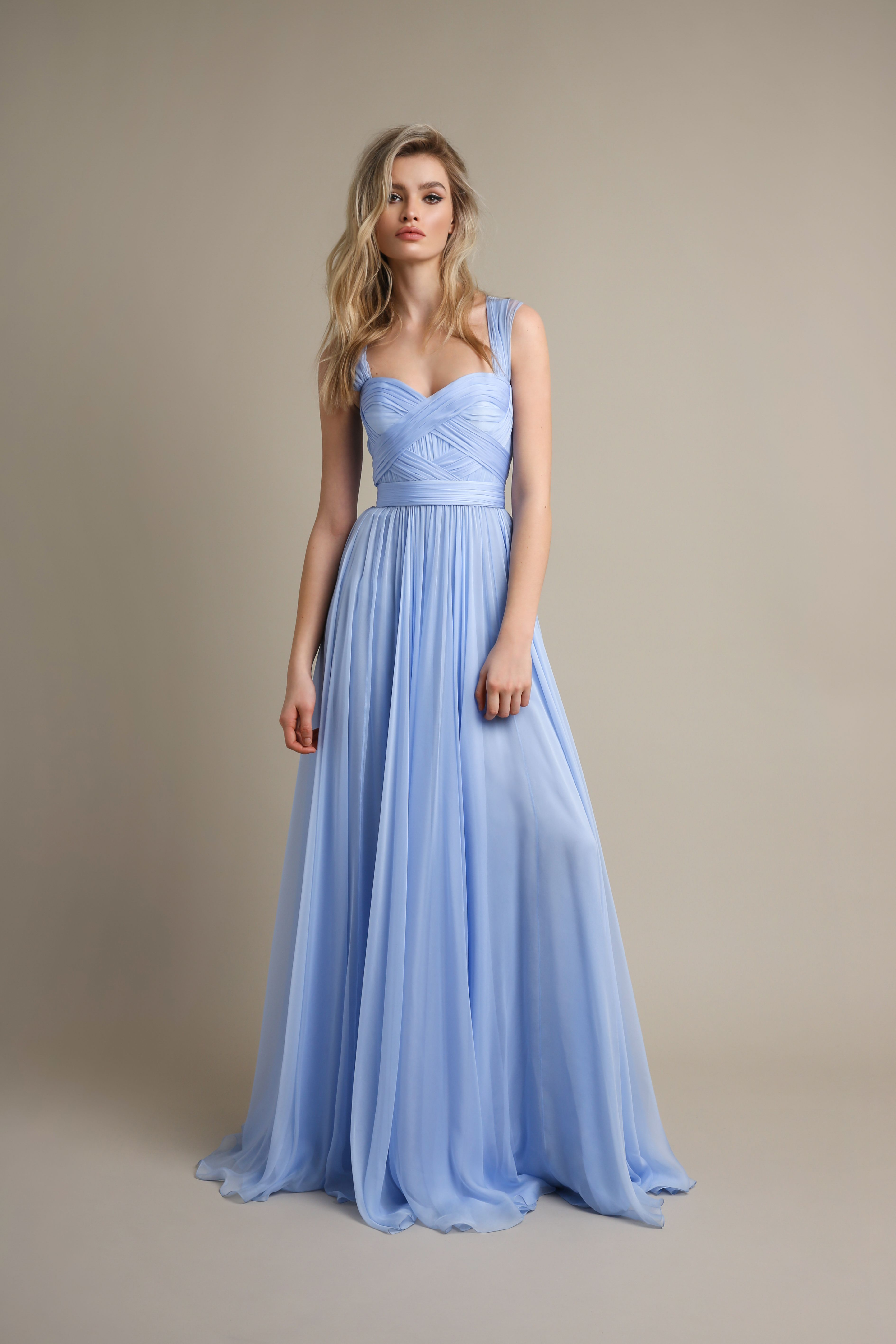 Shop This Aw19 Look On Saks Silk Evening Gown Silk Bridesmaid Dresses Evening Gowns [ 5668 x 3779 Pixel ]