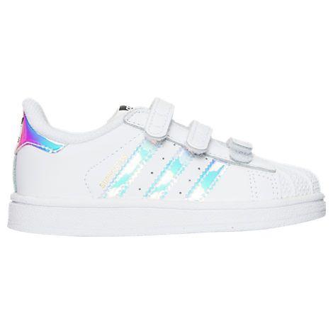 Girls\u0027 Toddler adidas Superstar Casual Shoes