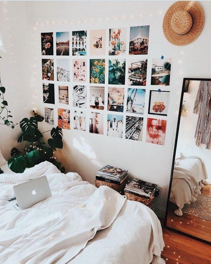 35 einfache Möglichkeiten für DIY Dorm Room Decor-Ideen #cutedormrooms
