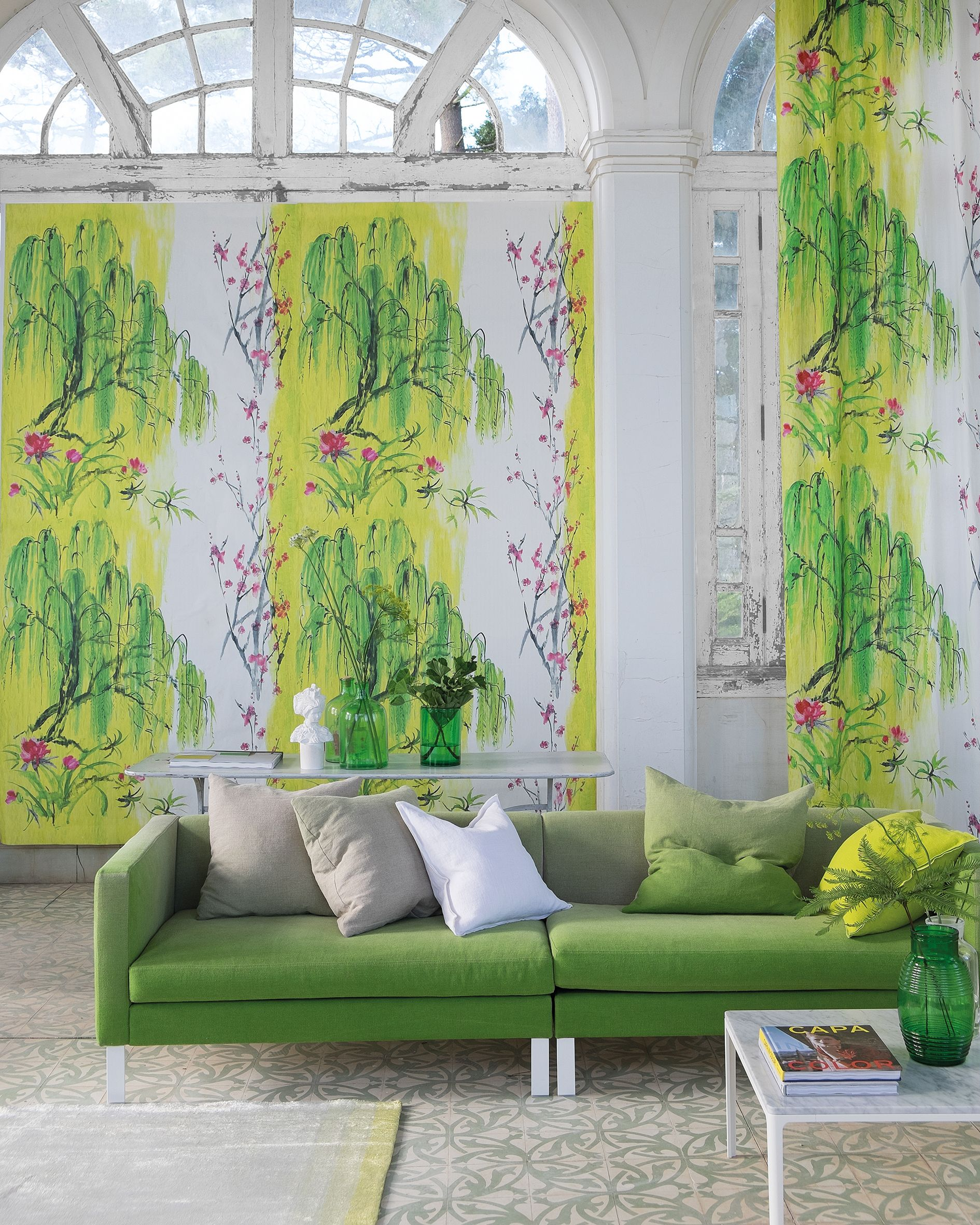 Designers Guild Wiilow Blossom Fabric And Wallpaper