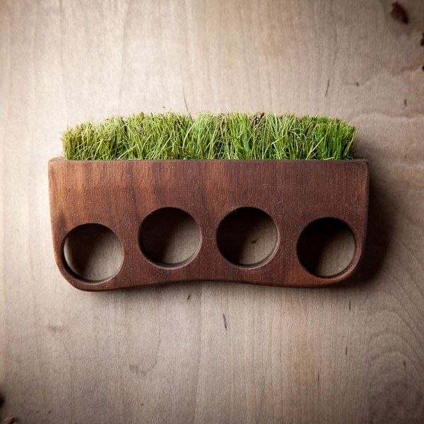 Grass Brass Knuckles by Mr. Lentz