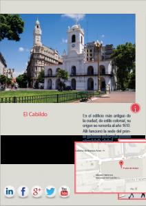 Página de una revista interactiva digital