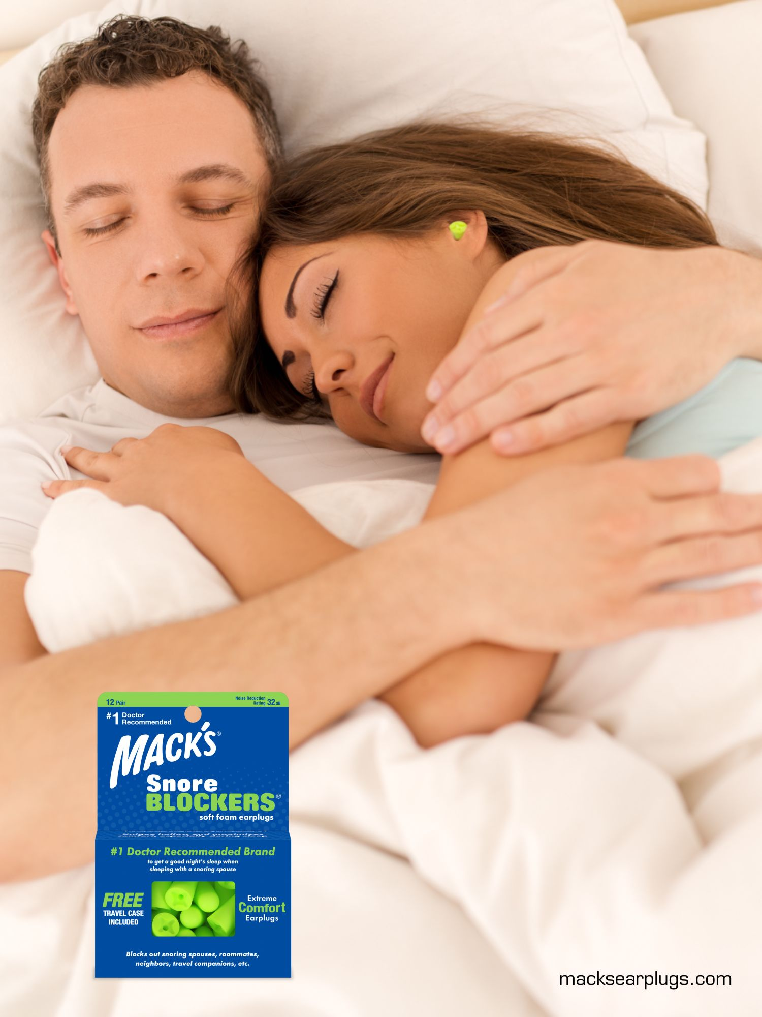 Is your snoring partner keeping you up all night? Are you