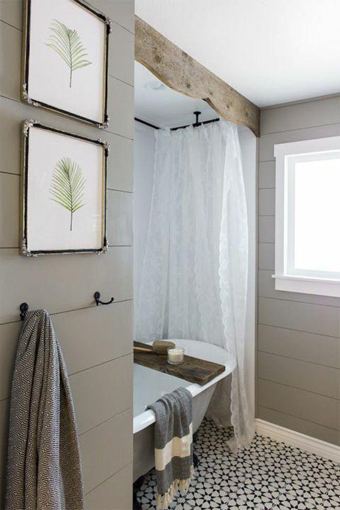 Mille idées d\'aménagement salle de bain en photos   Pinterest   Sols ...