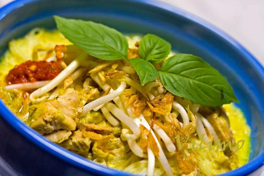 Resep Laksa Ayam Betawi Enak Dan Lezat Resep Masakan Resep Masakan Indonesia Masakan