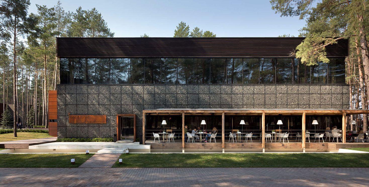 Food Forest Park Restaurant On Interior Design Served
