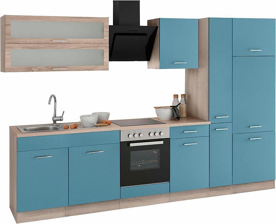 Held Möbel Küchenzeile ohne E-Geräte »Utah«, Breite 300 cm Jetzt - küchenzeilen ohne geräte