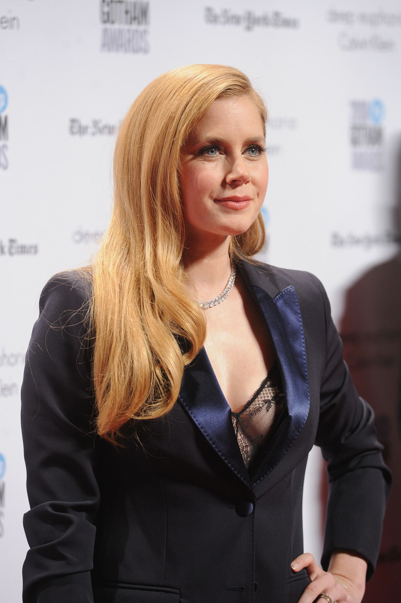 Dailyactress Amy Adams Attends Ifps Th Annual Gotham Independent Film Awards At Cipriani Wall Street On November   In New York City
