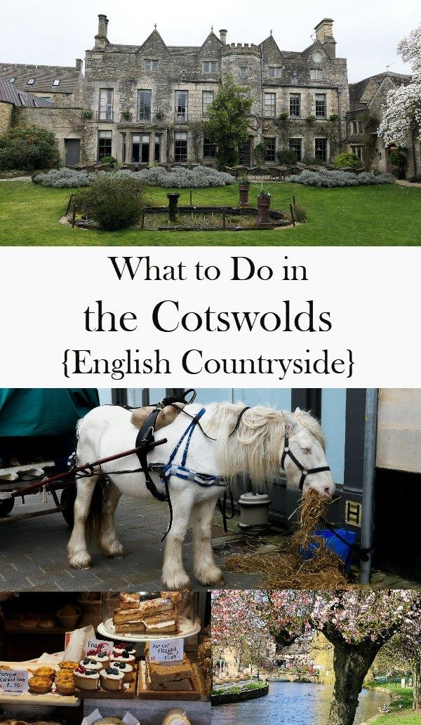 What to Do in the Cotswolds {Gloucestershire} #travelengland