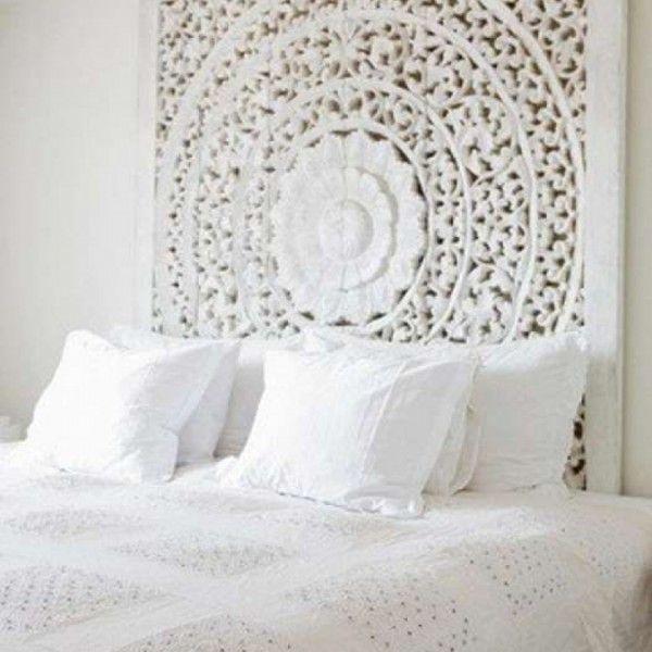 kopfteil bett wei und grau - Hausgemachte Kopfteile Fr Betten