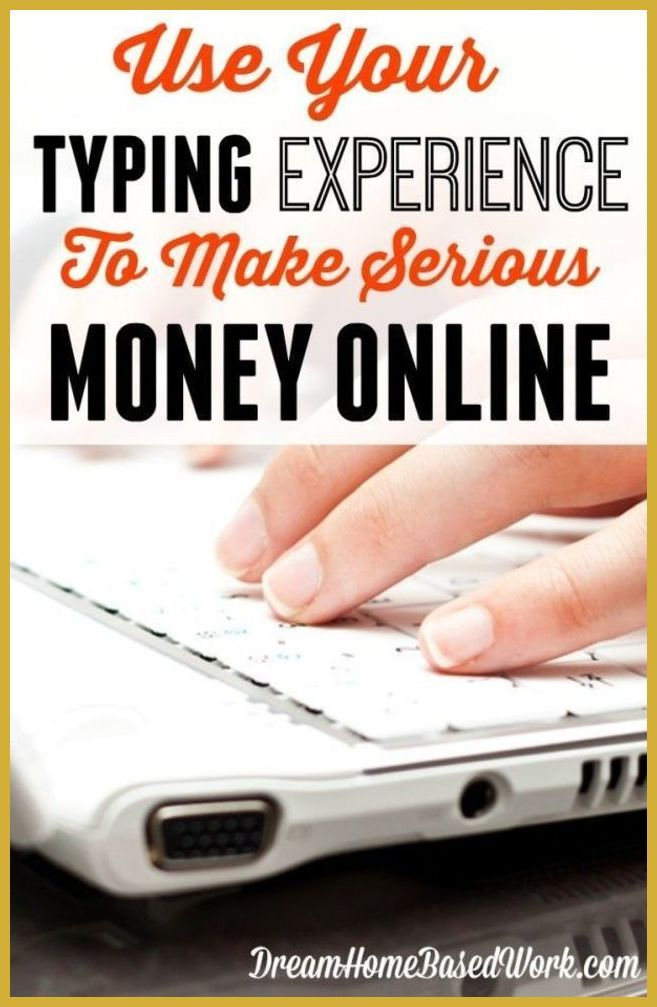 Earn extra income typing with google