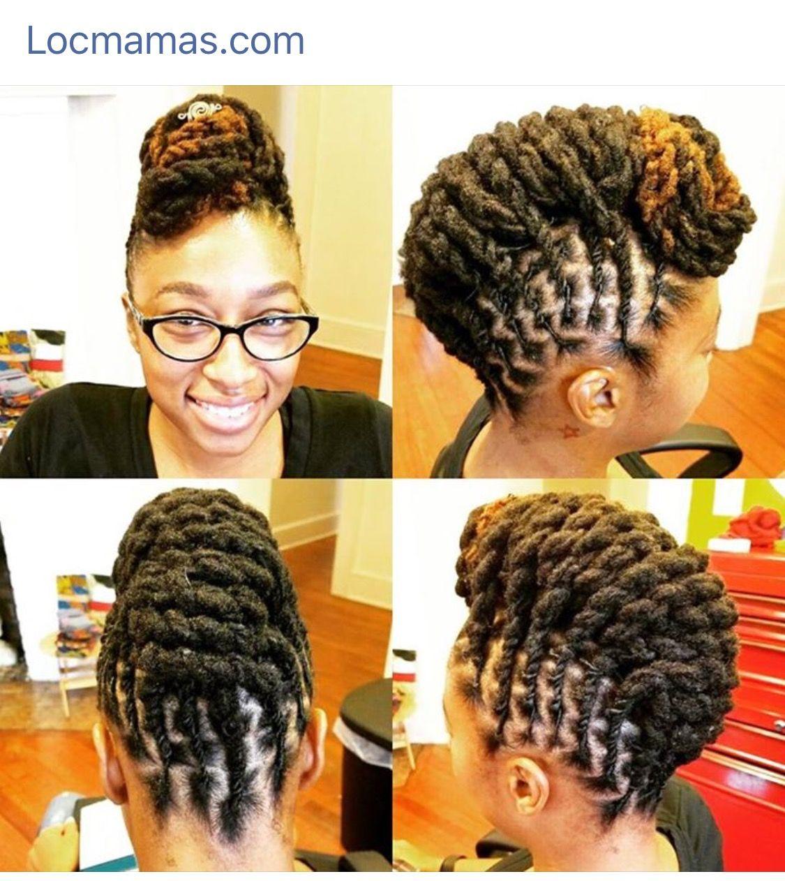 Longlivelocs Locgoals Locupdo Loctwists Short Locs Hairstyles Hot Hair Styles Locs Hairstyles