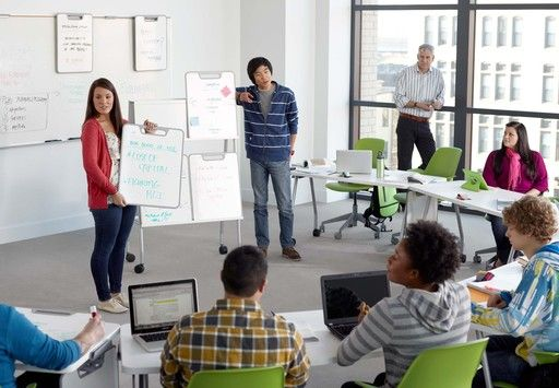 Classroom Design And Student Learning : In two minutes kids that are working groups can