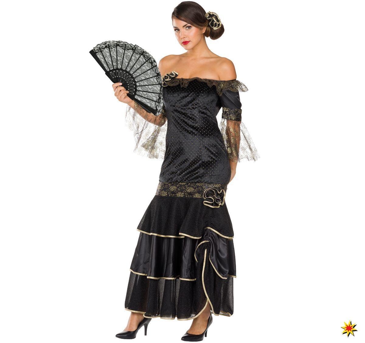damen kostüm flamenco tänzerin lucia | flamenco kleider
