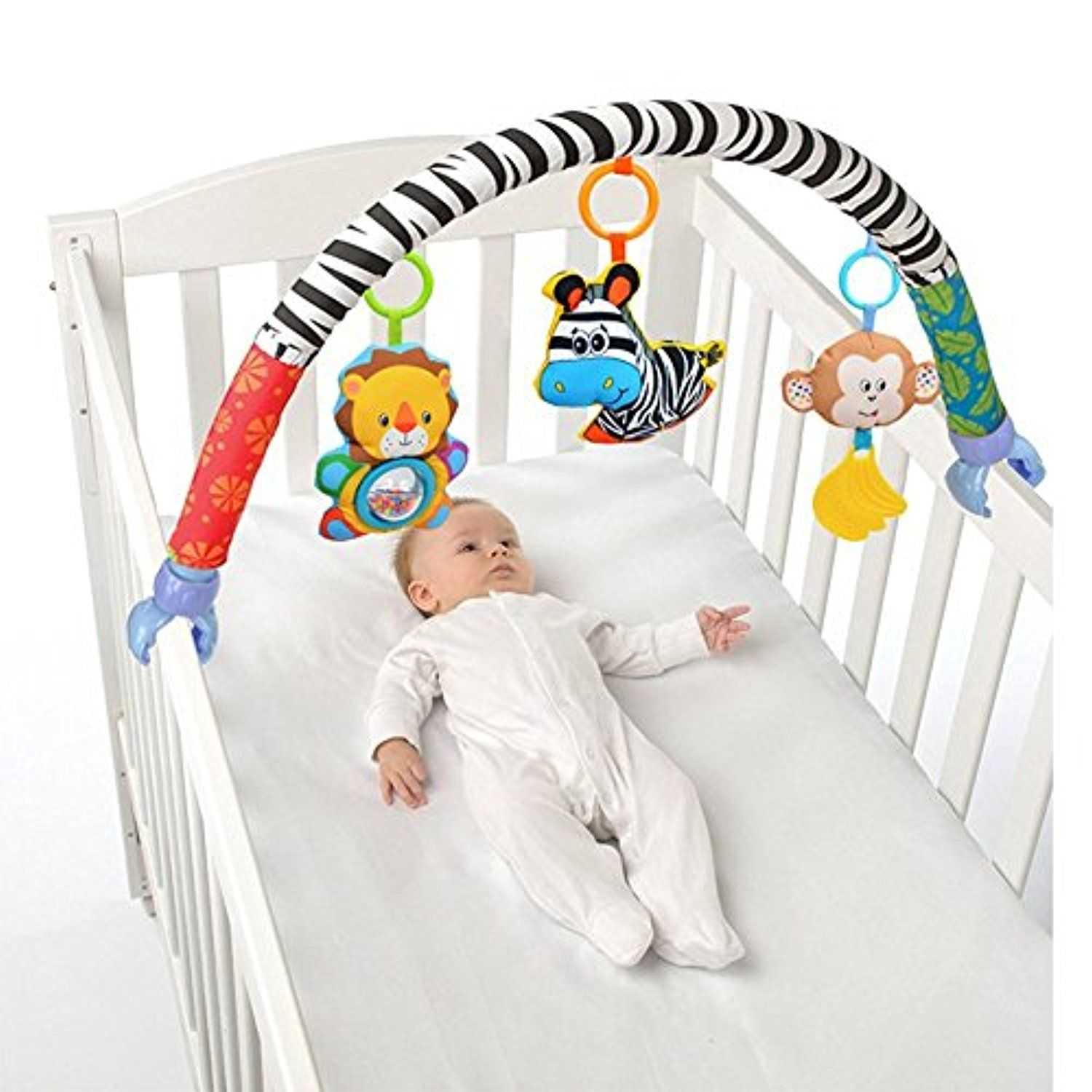 Crib activity toys for babies - Cheap Stroller Connector Buy Quality Toys Playskool Directly From China Stroller Umbrella Suppliers Sozzy Baby Stroller Bed Crib Hanging Toys For Tots