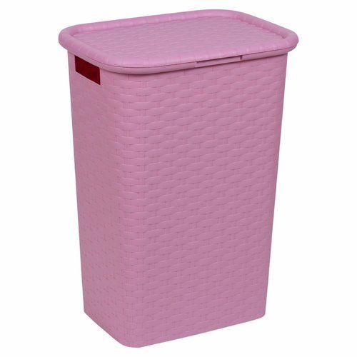 Laundry Bin 17 Stories Colour Pink Laundry Bin Storage Bins