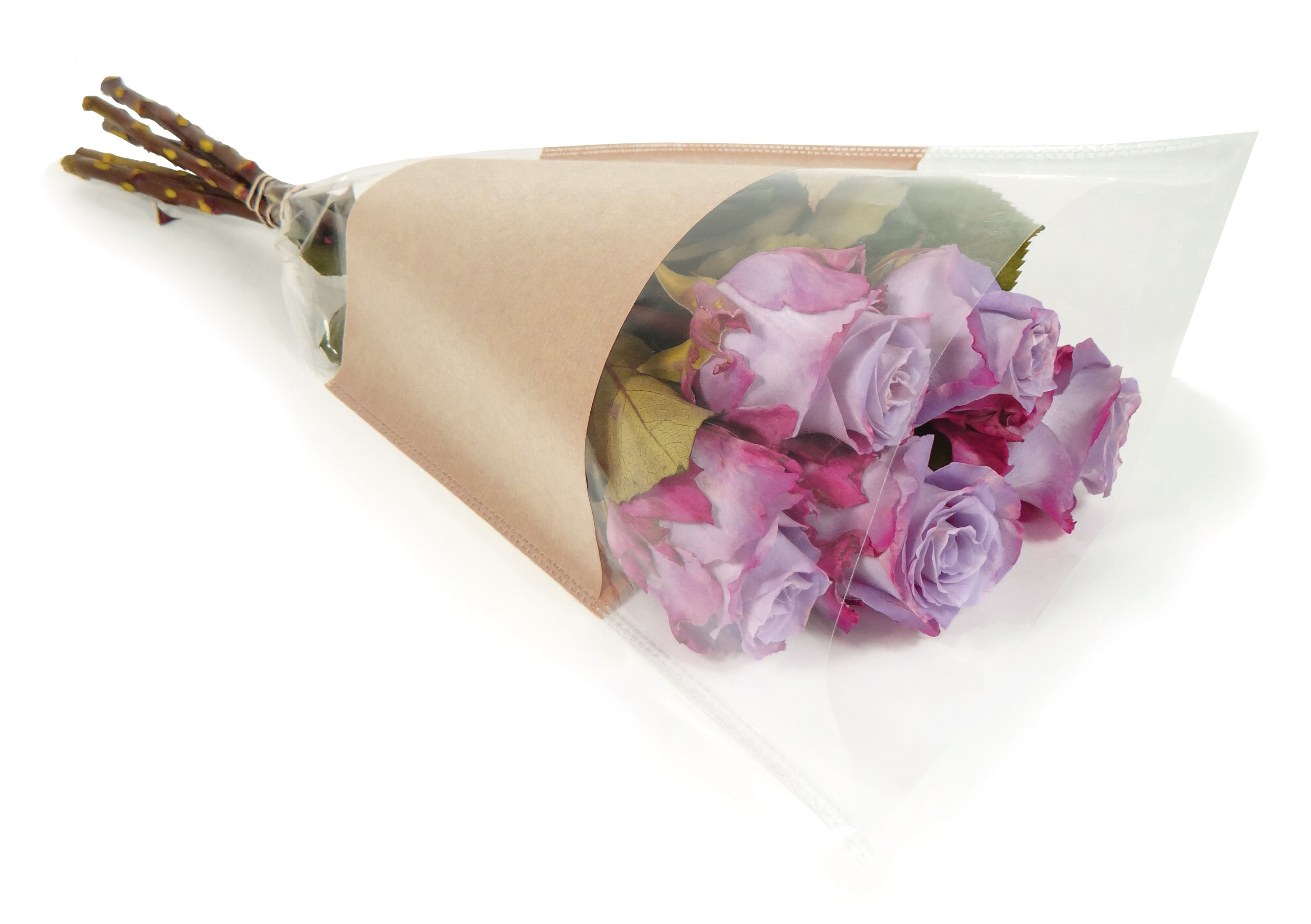 Nature Line sleeves | Natural kraft paper & BOPP | Available sizes: 40x30x12cm, 50x35x10cm, 50x44x12cm, 60x40x15cm, 70x60x15cm, 75x16x8cm