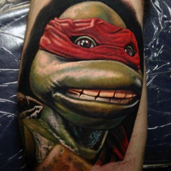 de16bcb02 70 Teenage Mutant Ninja Turtle Tattoo Designs For Men - Hero Ink ...