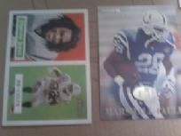 6 indianapolis colts football cards lot #3 nice...