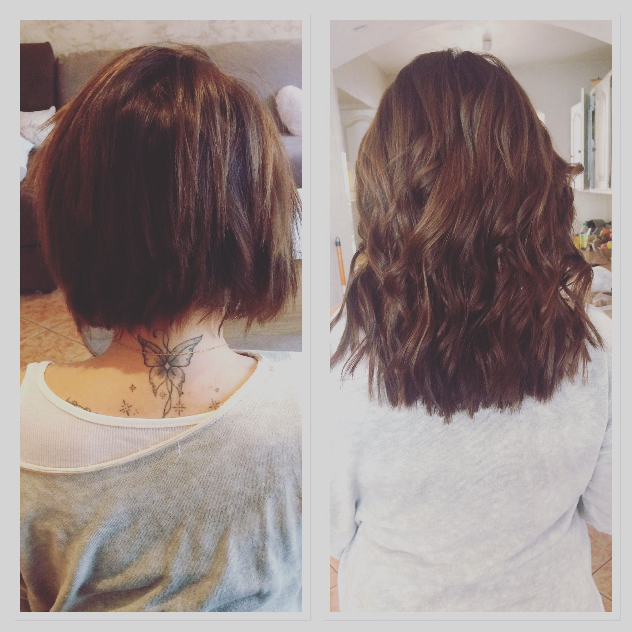 Kit extension cheveux keratine
