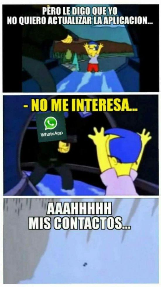 El problema que tenemos con el nuevo Whatsapp        Gracias a http://www.cuantocabron.com/   Si quieres leer la noticia completa visita: http://www.skylight-imagen.com/el-problema-que-tenemos-con-el-nuevo-whatsapp/
