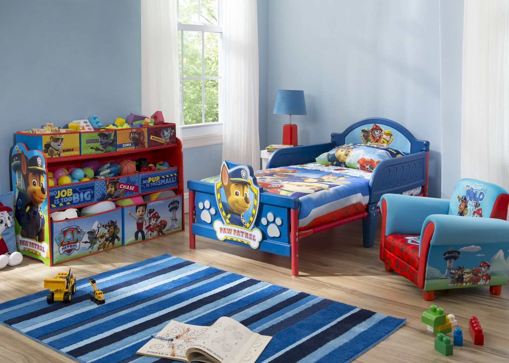 Nice Atractive Boys Bedroom Ideas For Todlerhttps Paguponhome Com Atractive Boys Bedroom Ideas Fo Toddler Boy Room Themes Toddler Kids Bed Paw Patrol Bedroom