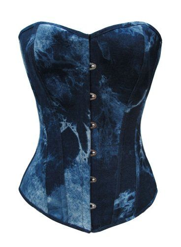 Camellias 100% Cotton Blue Denim Sexy Strong Boned Corset Bustier Top SZ1684-M Camellias Corsets http://www.amazon.com/dp/B00K1II9PO/ref=cm_sw_r_pi_dp_DZaTvb0XBH1ES