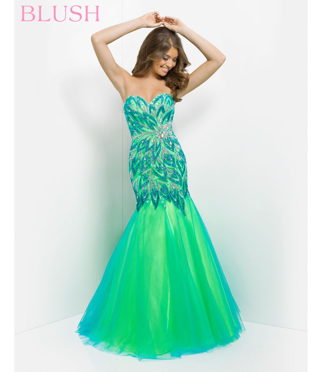 Unique Vintage | Long prom gowns, Vintage prom and Retro dress