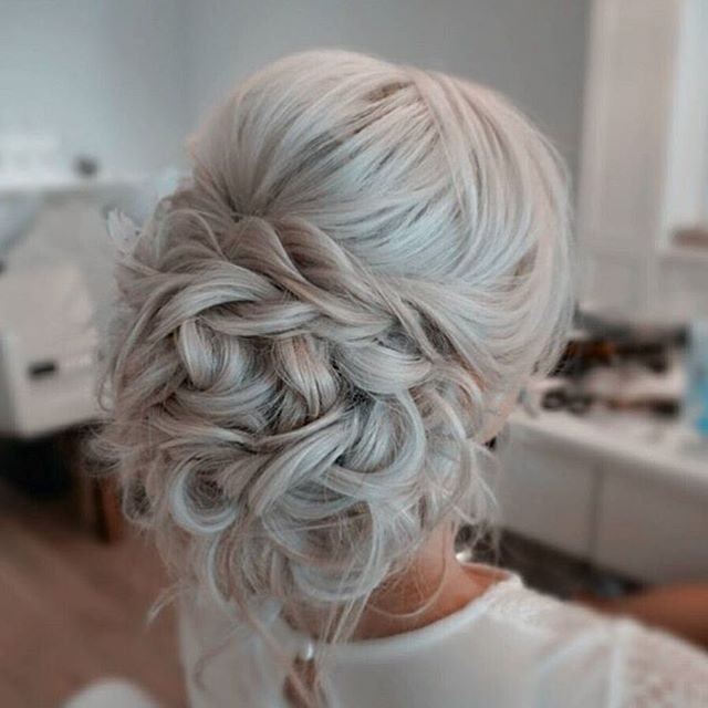 Pin By Gagan Sandhu On Bridal Inspo: Wedding Braid Inspo Of The Day #updo #hair