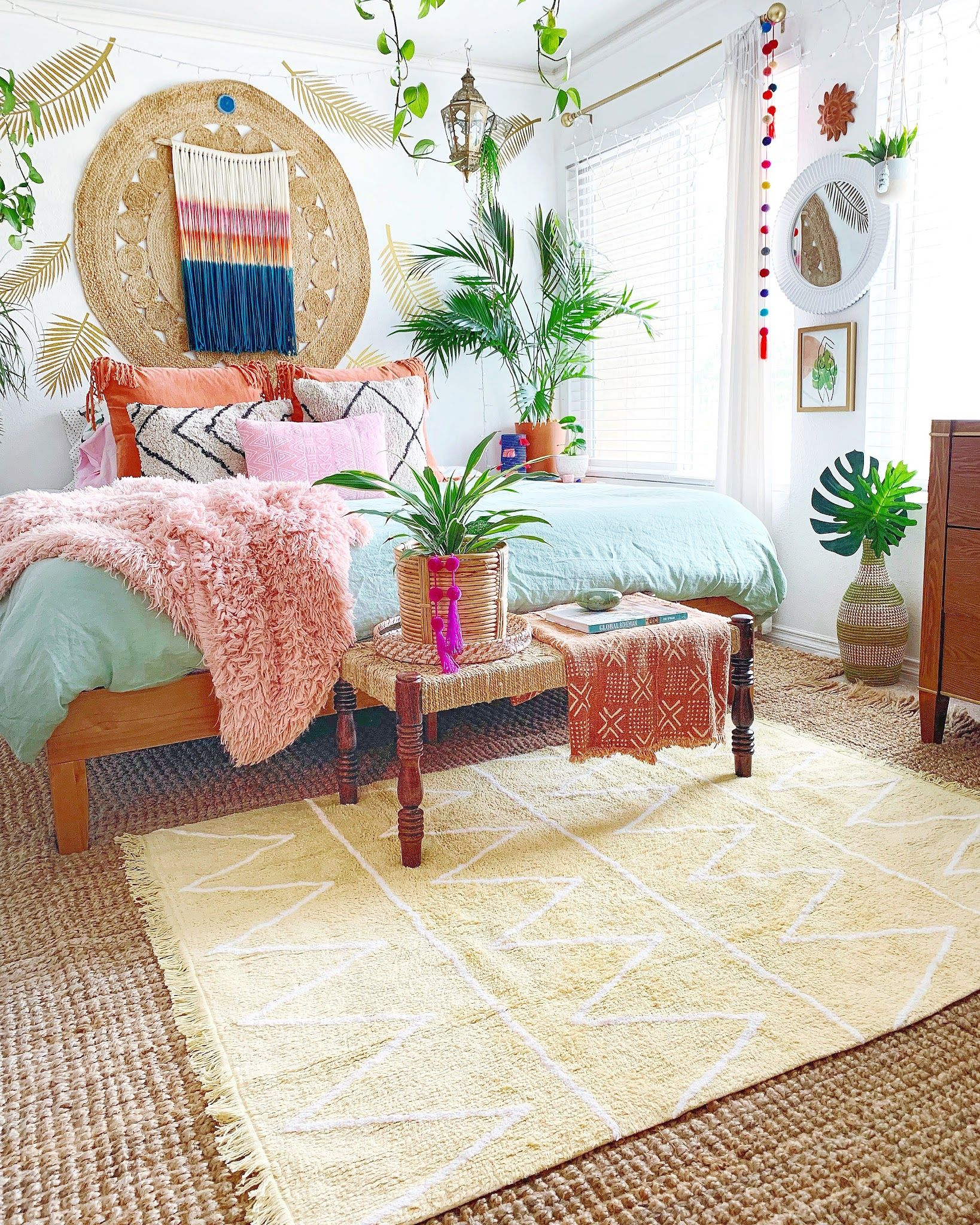 Lorena Canals Official Web Shop New Collection Lorena Canals S L Lorena Canals Boho Chic Bedroom Decor Chic Bedroom Decor Boho Style Bedroom Decor