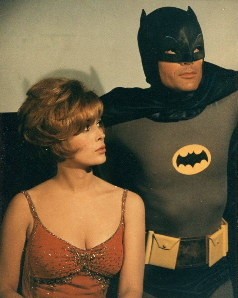 Batman and Molly.