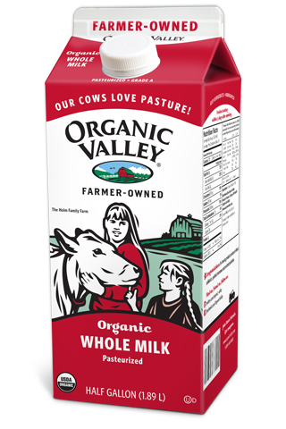 Organic Valley, Organic Whole Milk, Check out the website