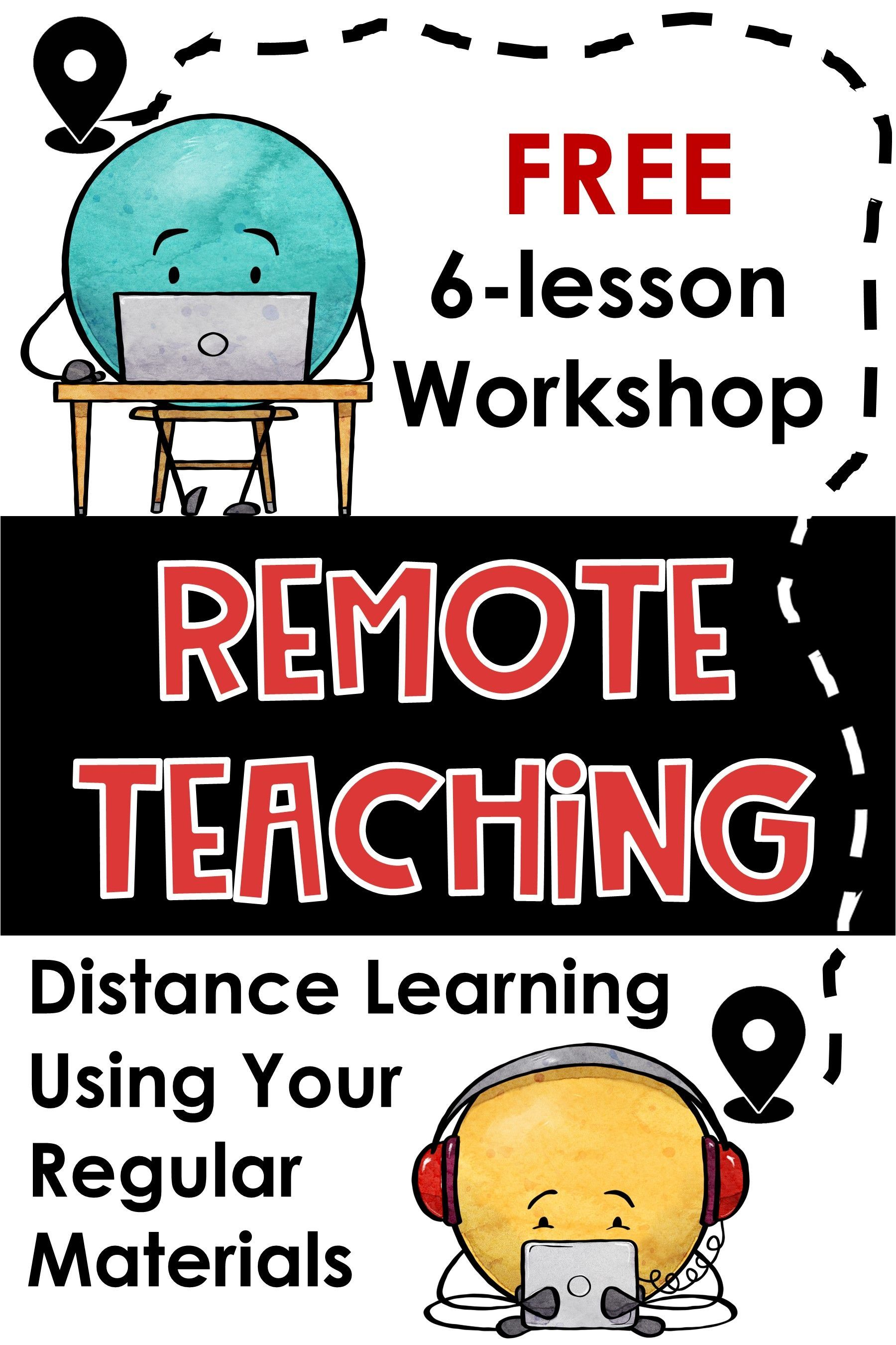 FREE Remote Learning Workshop for Teachers