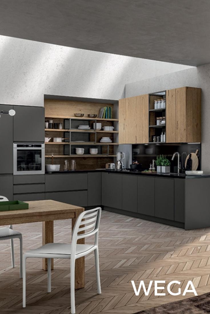 Cucina moderna contemporanea e versatile | Azienda Arredo3 ...