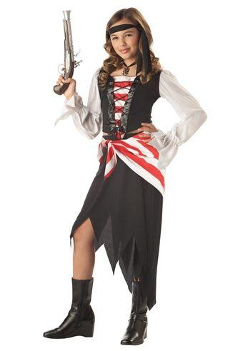 Ruby The Pirate Beauty Girls Halloween Costume $3499 The - ladies halloween costume ideas
