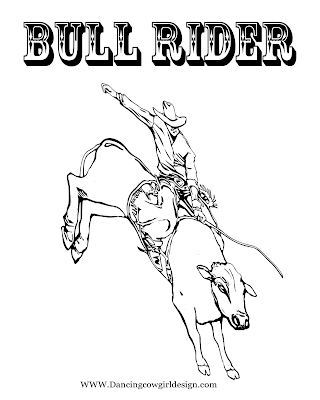 Rodeo Coloring Pages Bull Rider Coloring Sheet 2 Bull Riders Horse Coloring Pages Horse Coloring