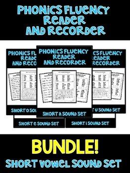 SHORT VOWEL BUNDLE! - Phonics Fluency Assessment