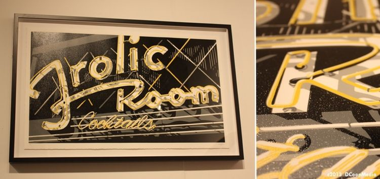 Frolic Room | Dave Lefner   Via D'Scoop