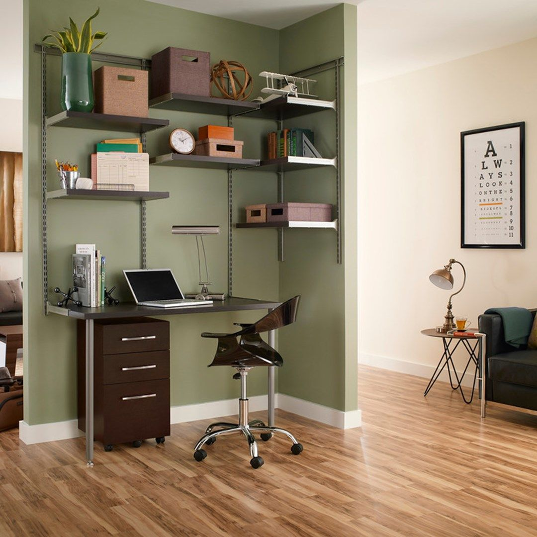 ClosetMaid : ClosetMaid Launches ShelfTrack Elite Home Office Kits And  Accessories, Exclusively At Staples