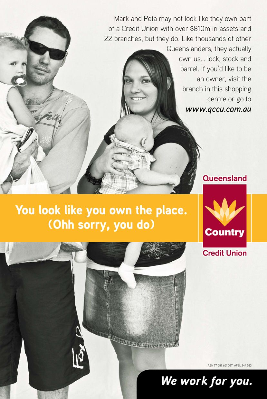 QCCU press ad Credit union, Ads, Queensland