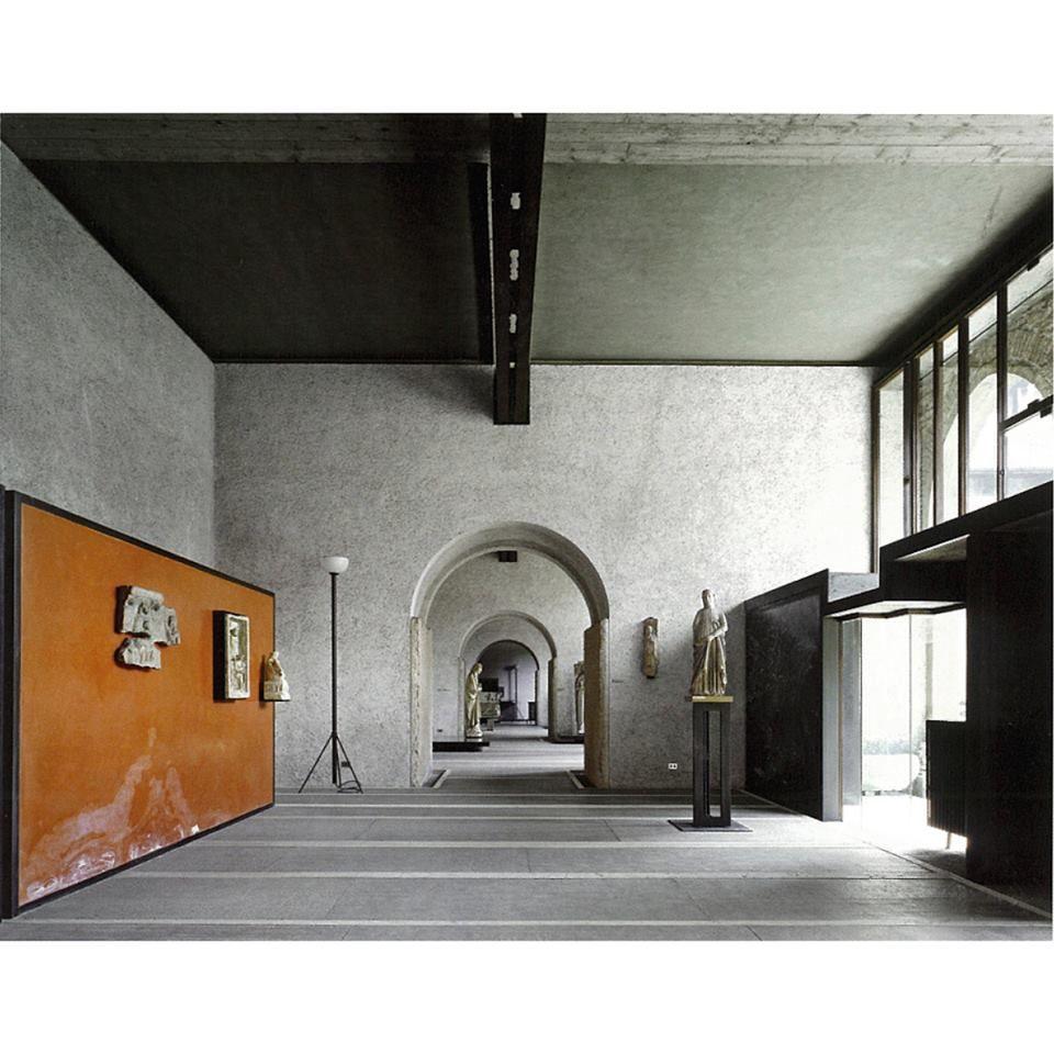 Museo di castelvecchio by carlo scarpa in verona for Innenarchitektur studium ausland