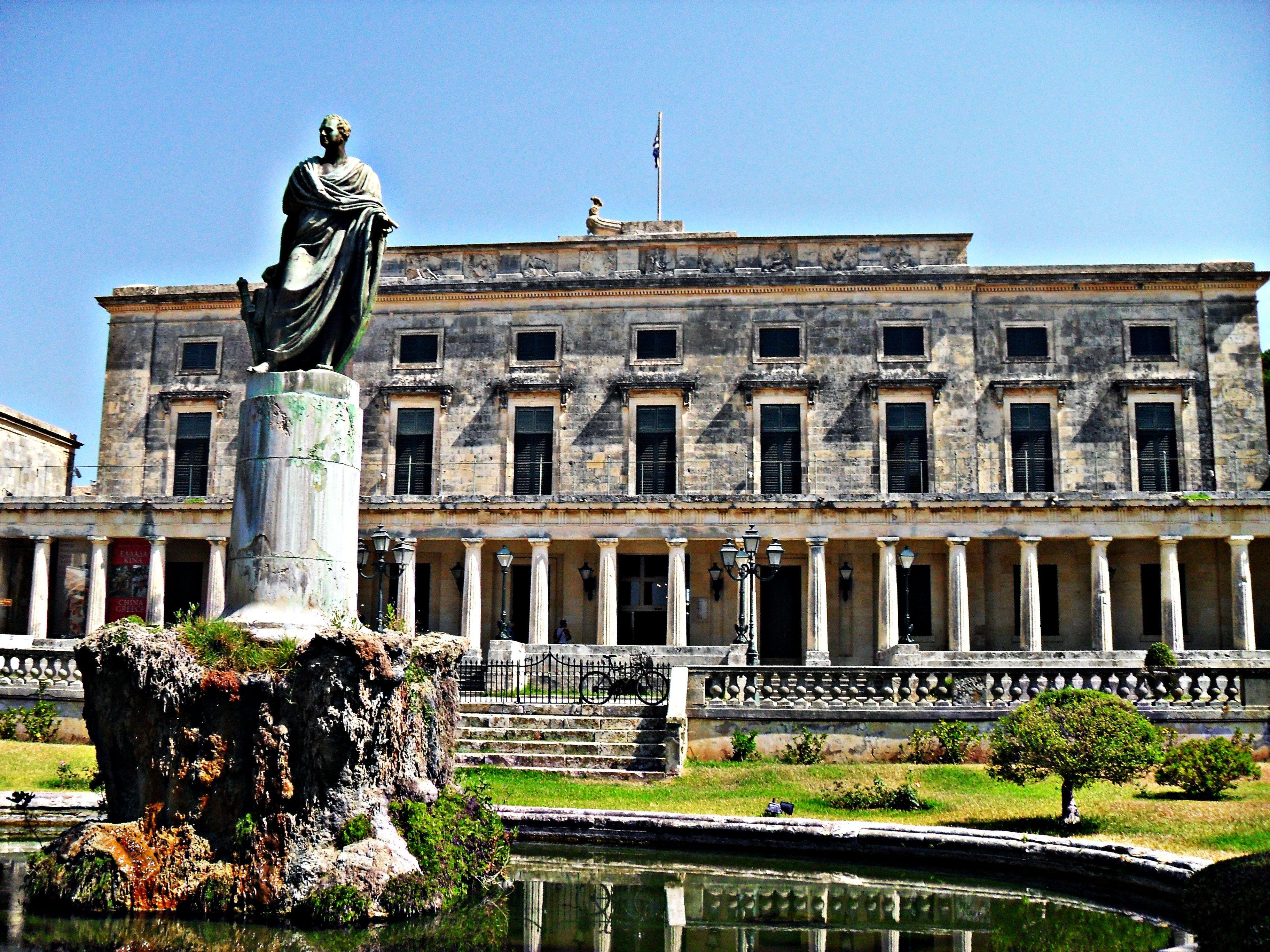 Corfu Town Kerkyra Corfy Island Greece