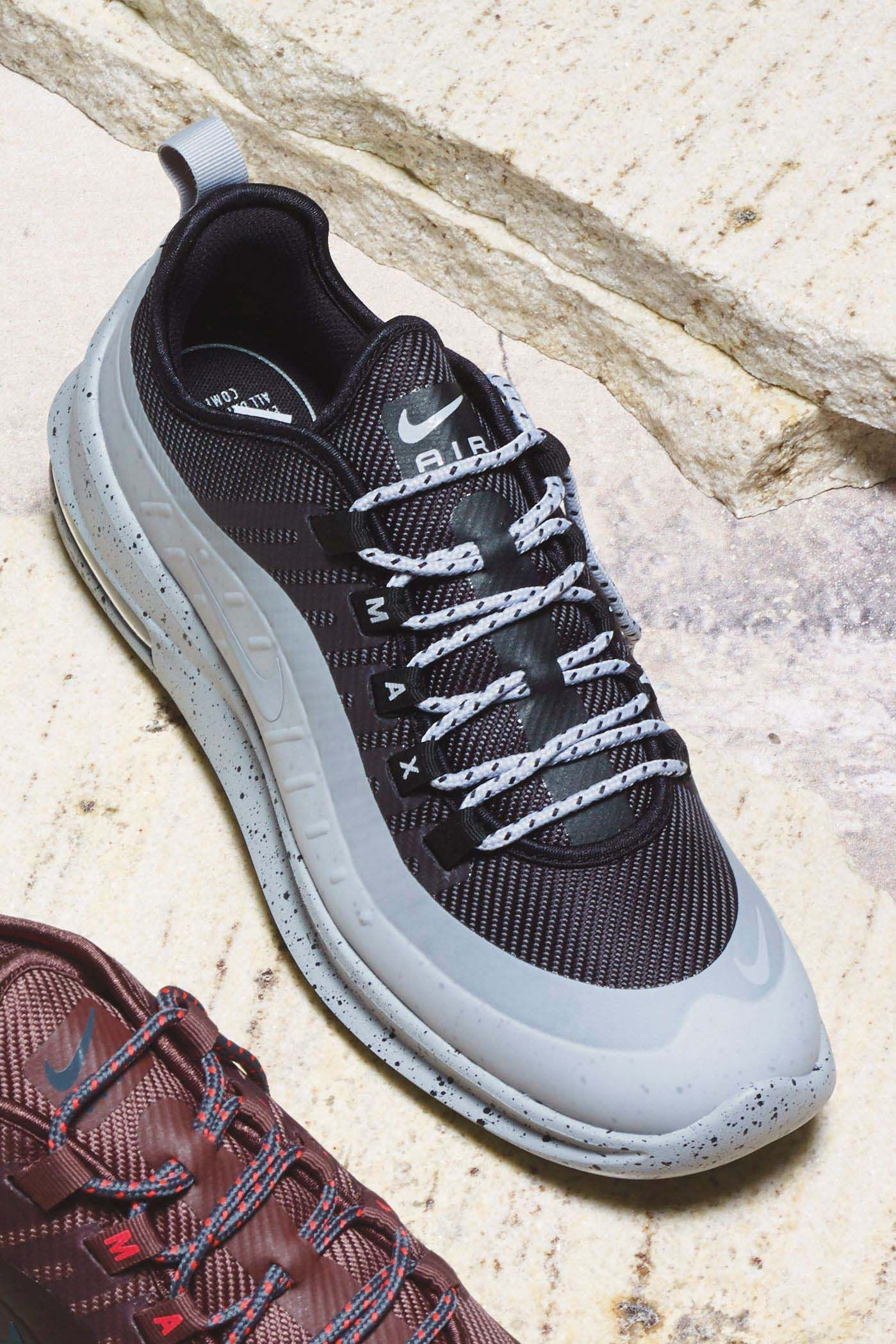 Mens Nike Air Max Axis Premium - Black  213574c51