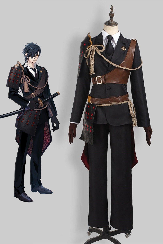 Game Touken Ranbu Online Cosplay Costume, Shokudaikiri